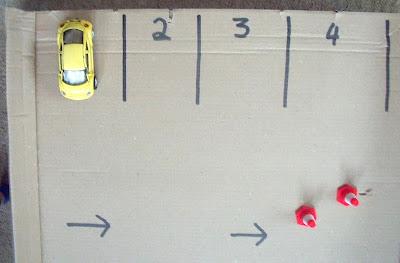 HOMEMADE CAR PARK PLAYSET