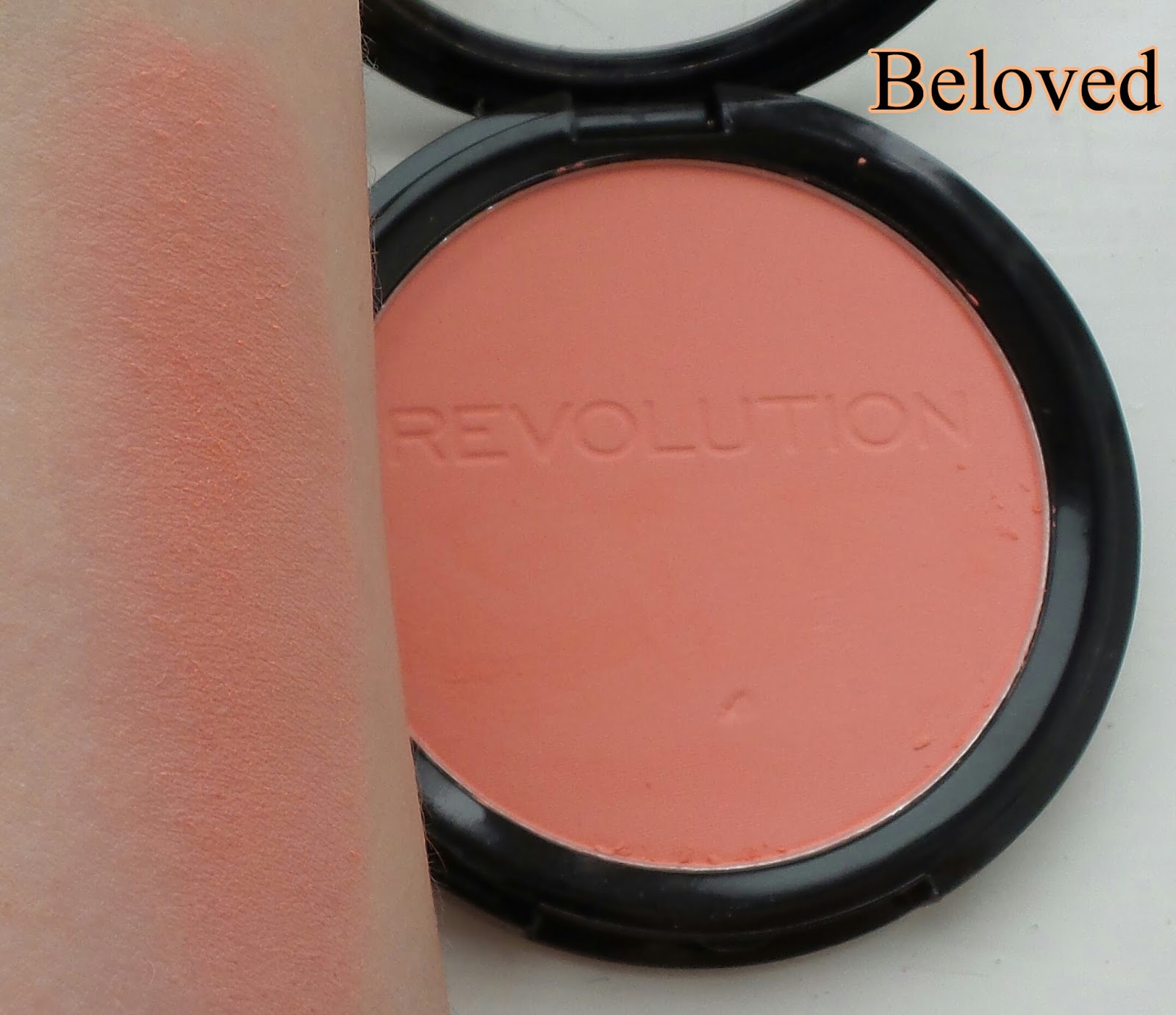 Beauty fashion and lifestyle : Makeup Revolution The Matte Blush ...