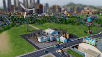 Usina de Energia Elica no SimCity - Estgio 1