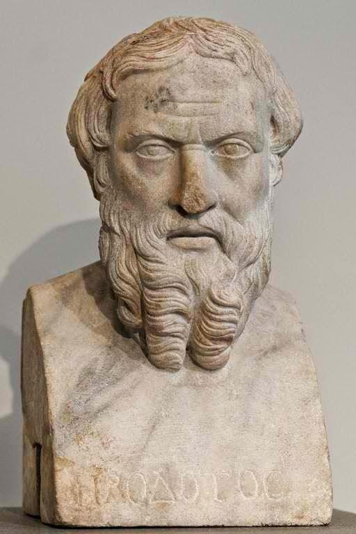 Herodotus statue