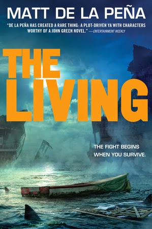 the living by matt de la peña book cover