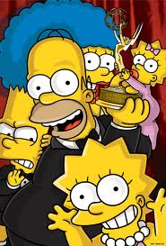 The Simpsons win an award