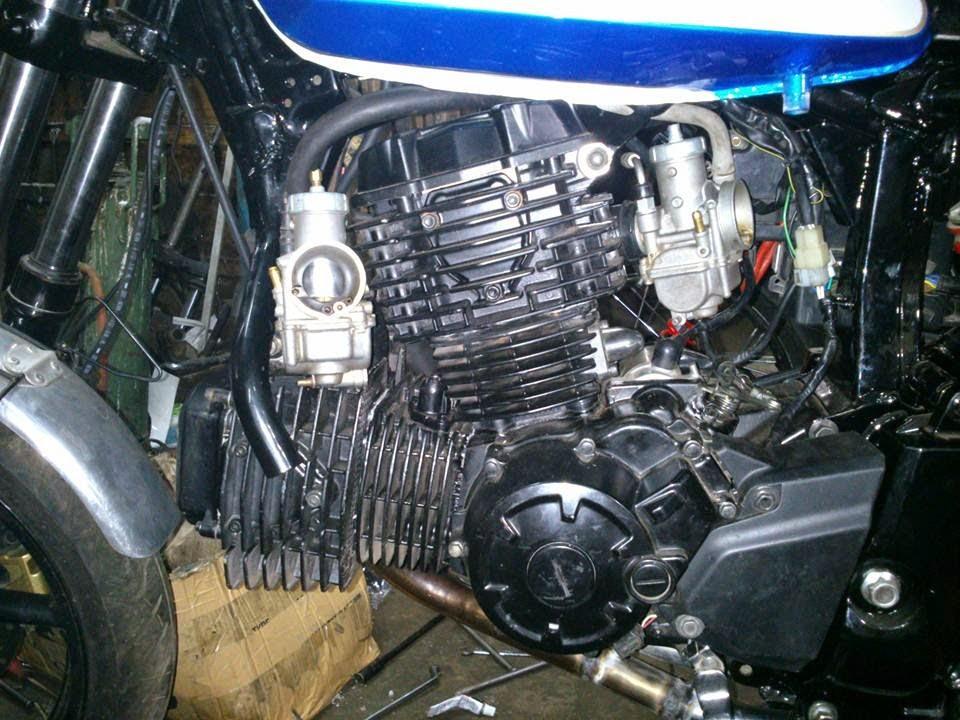 Yamaha Bison 2 Cylinder