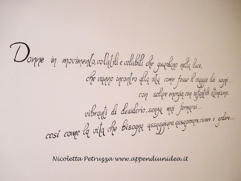 Bien-aimé Appendi un'idea - Nicoletta Petruzza: Murales nel salone di un  OJ23