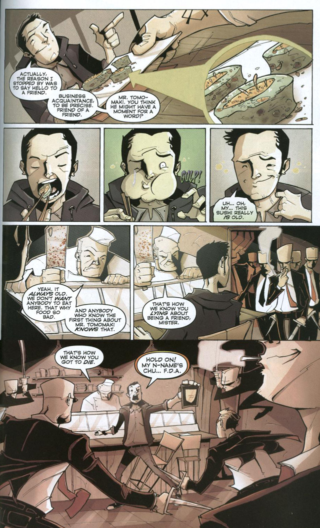 Chew #2 by John Layman and Rob Guillory