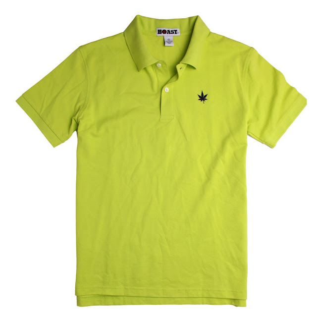 Tennis color Boast USA Polo Shirt