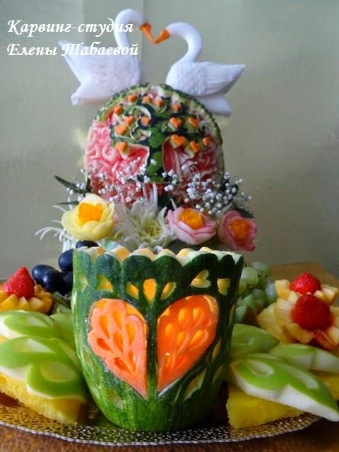 фруктовый карвинг свадьба южно-сахалинск