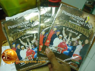 Inilah DVD kiriman dari Subang