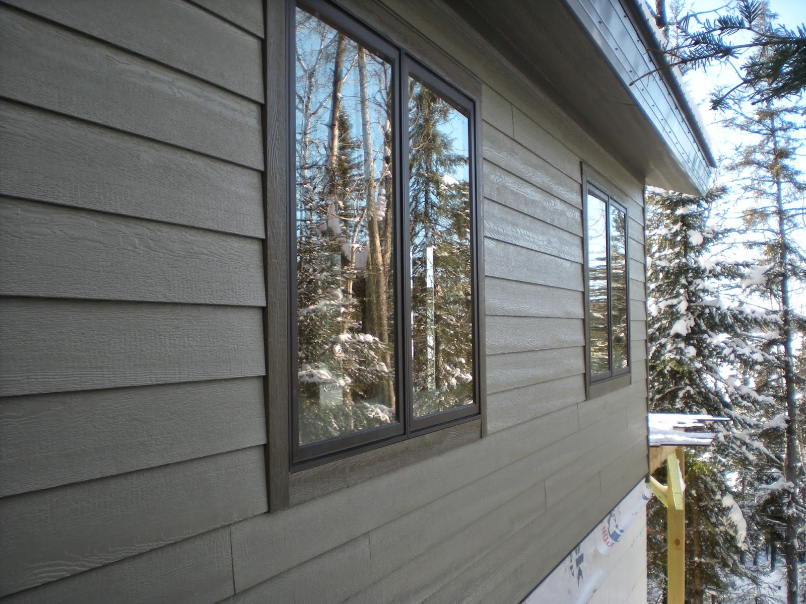 LP Smartsiding, Huisman, custom homes, timber, frame, Ely, minnesotaa