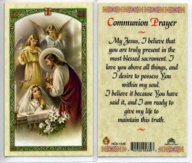 Life of a Catholic Librarian: The Catholic Nook: Holy/Prayer Cards