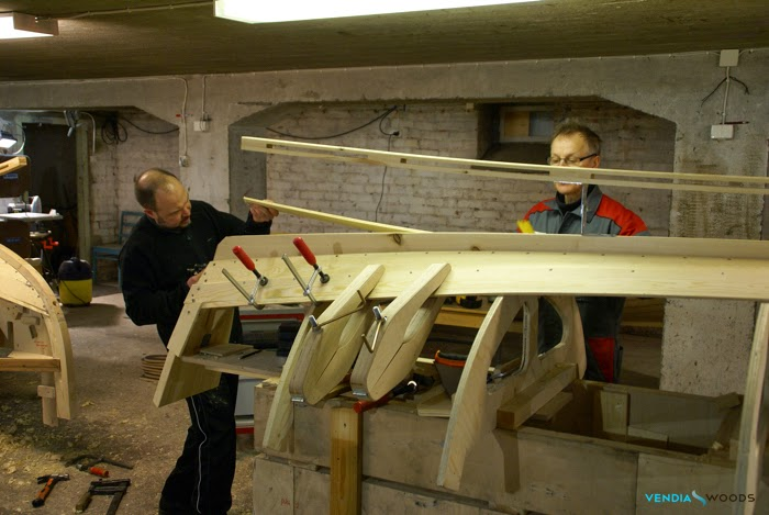 boatbuilding wooden boat