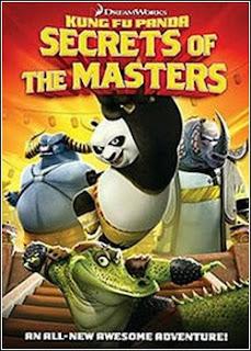 baixar capa Kung Fu Panda – Os Segredos Dos Mestres   DVDRip AVI Dual Áudio + RMVB Dublado