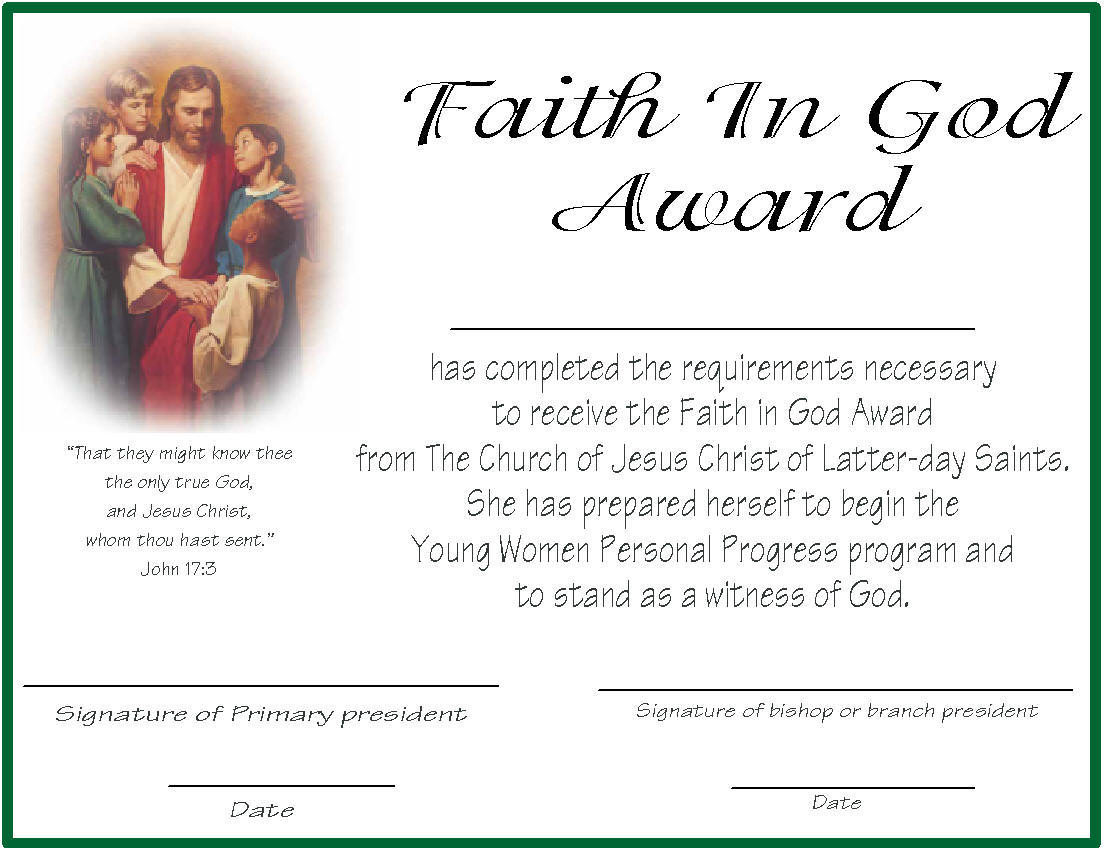 years of service award template