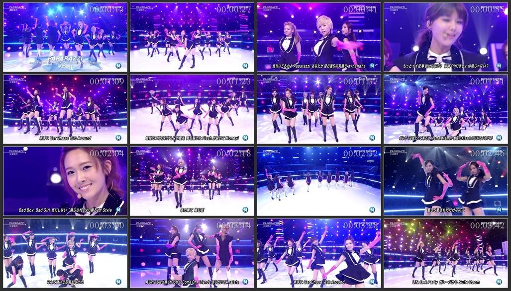 [Music Station 22.06.2012] SNSD - PAPARAZZI SNSD+-+PAPARAZZI+@+120622+MS.avi
