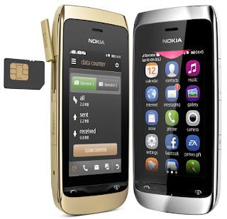 Nokia Asha 308 Spesifikasi dan Harga