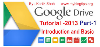 Google Drive Tutorial 2013