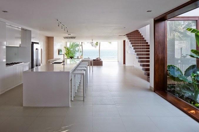Arquitectura minimalista villas oceanique mm - Diseno interior minimalista ...