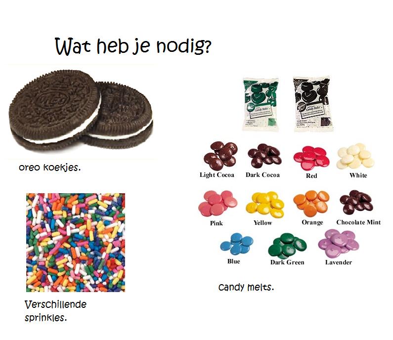 Wtfomgdiy sprinkle oreo cookies - Hoe om kleuren te maken ...