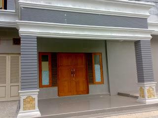 relief teras rumah tiang rumah minimalis