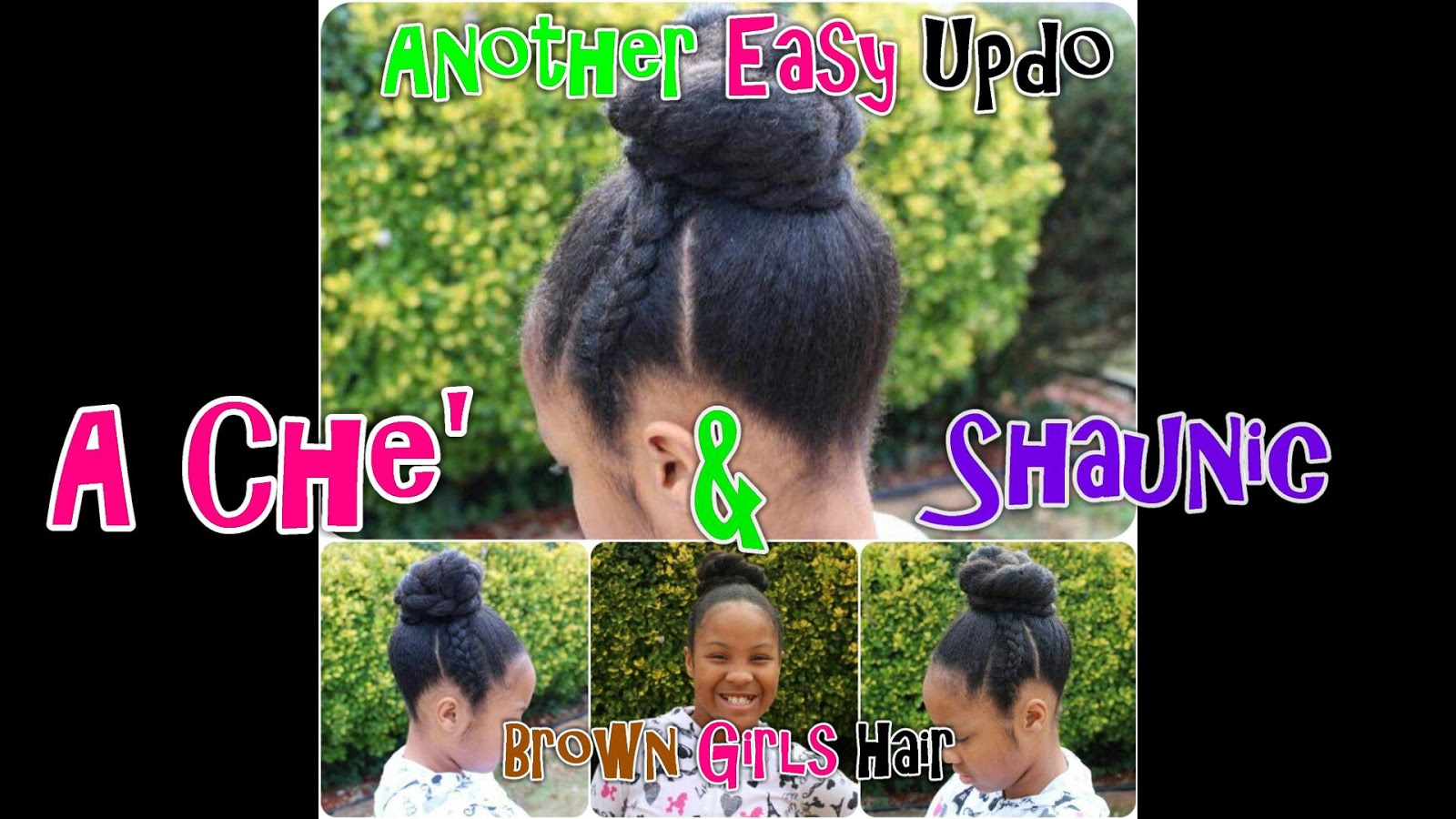 natural hairstyles for little black girls