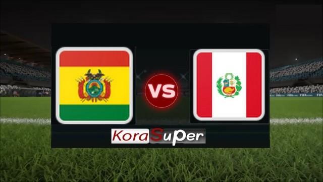 مشاهدة مباراة بوليفيا والبيرو بث مباشر 19-06-2019