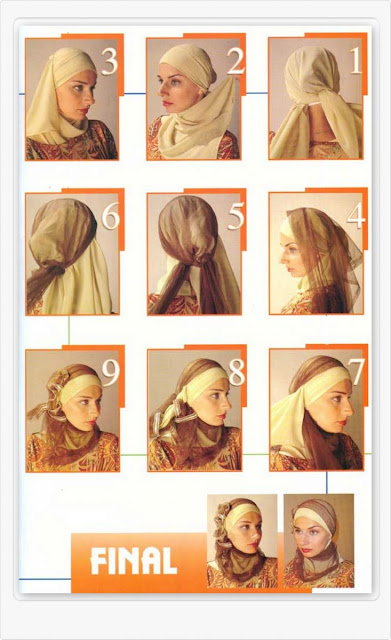 Cara Memakai Jilbab Modis