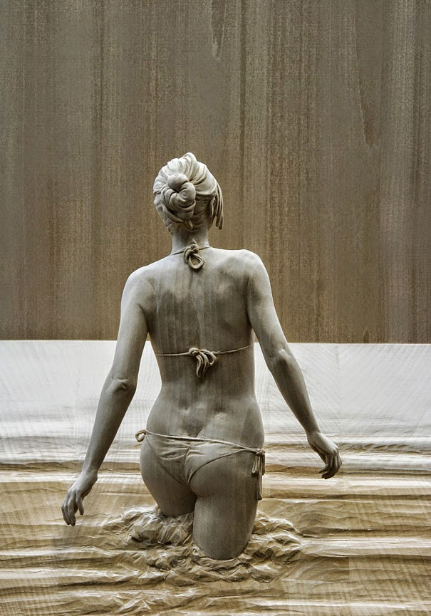 realistic wooden sculptures peter demetz