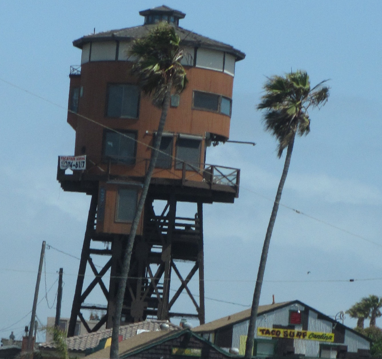 Water Tower Homes Cruisin Over Sixty Driving Down Pch In Huntingtonbeach California