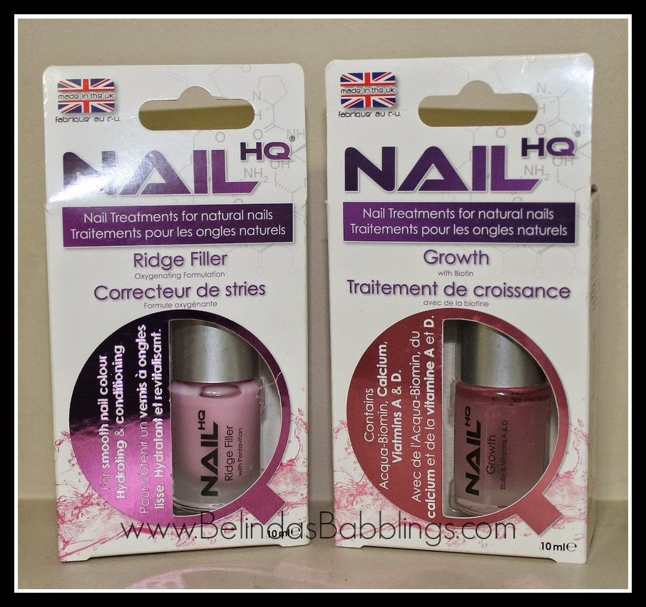 Nail HQ Treatments Review and Giveaway | Belinda\'s Babblings