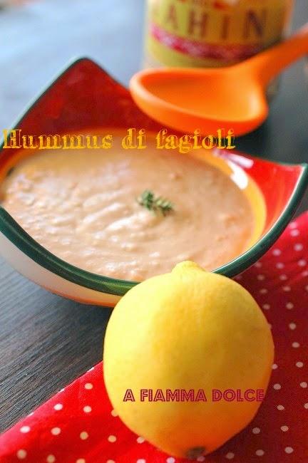 hummus di fagioli