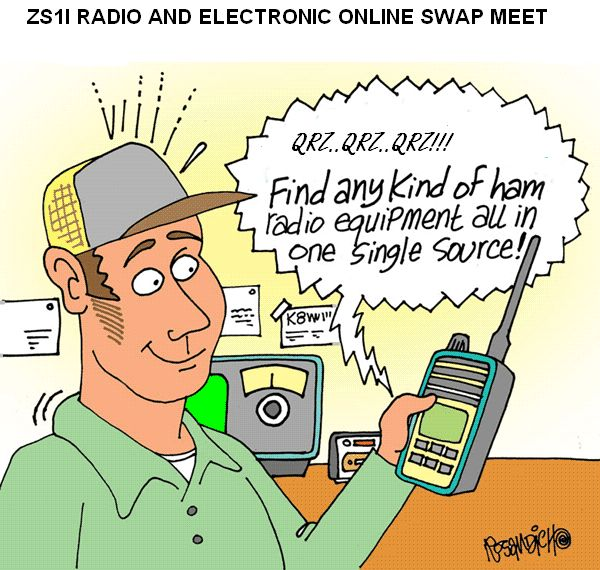 Here I swap and give away amateur radio and electronic equipment and ...