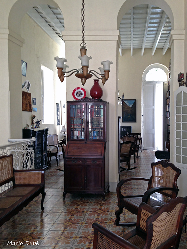 Intérieur d'une casa particular à La Havane