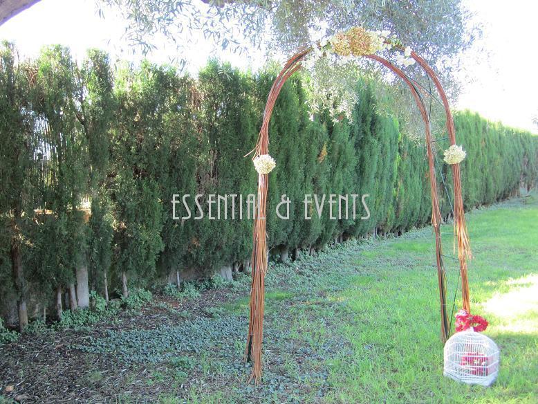 Bodas a medida tendencias en bodas 2012 el arco para la - Arcos de madera para jardin ...