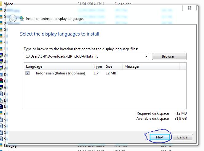Tutorial Cara Menambah Bahasa Indonesia di Windows 8.1, 8, 7, Vista ...