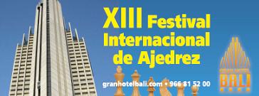 13º Festival Internacional Gran Hotel Bali 2014