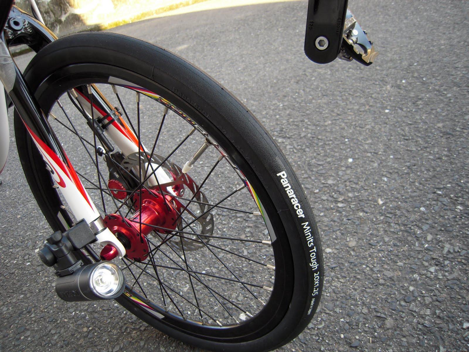 ... 日起: 自転車のタイヤ交換2