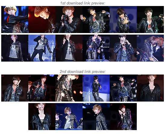 EXO-K at Yeosu Expo Pop Festival Day 2 Photo Download