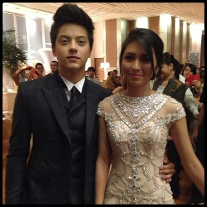 Daniel Padilla is Kathryn Bernardo's Escort in debut