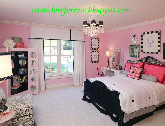 Fashion & Life Style Luxury pink and gold bedroom design