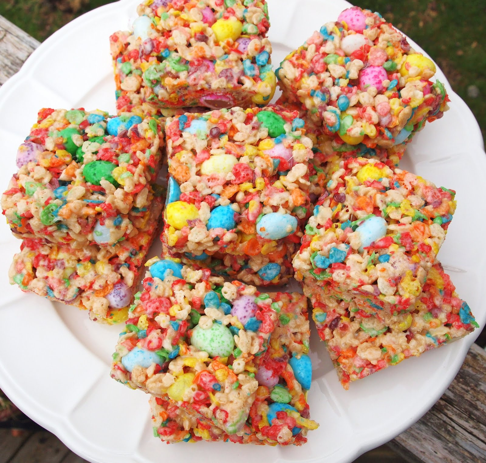 The Alchemist: Fruity Spring Cereal Squares