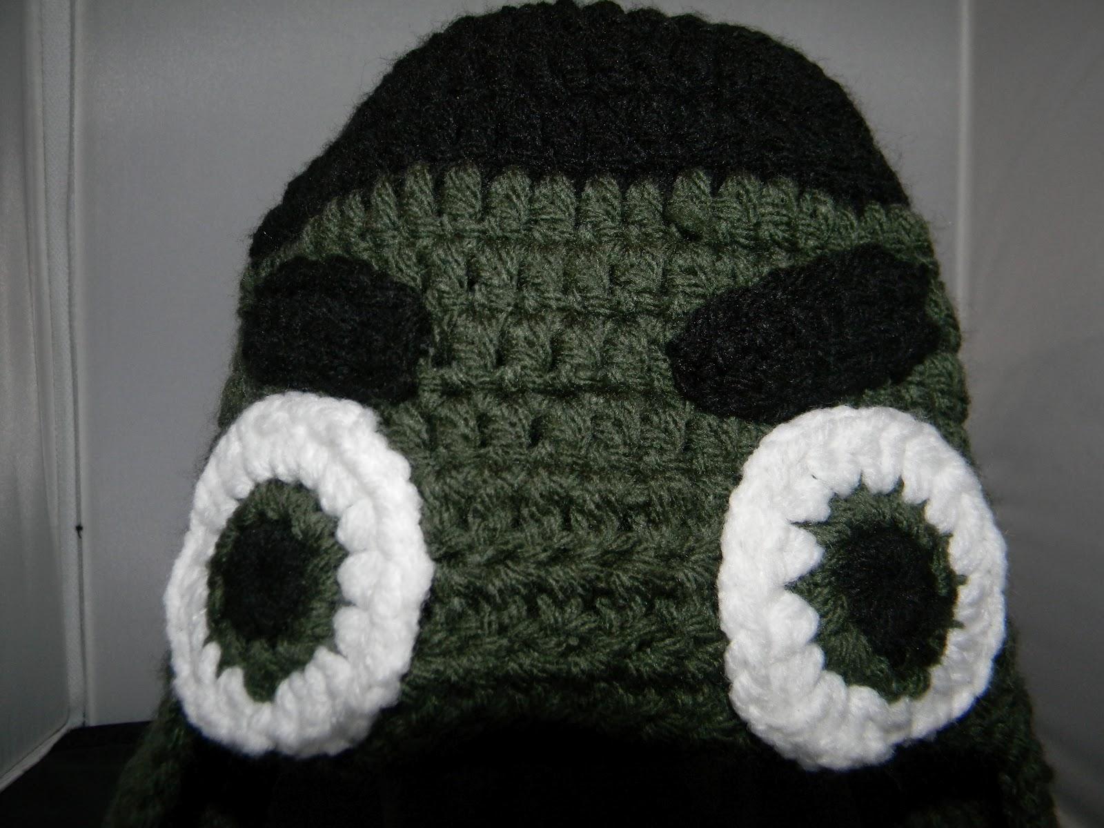 Craft-Tacular: Hulk Ear Flap Hat