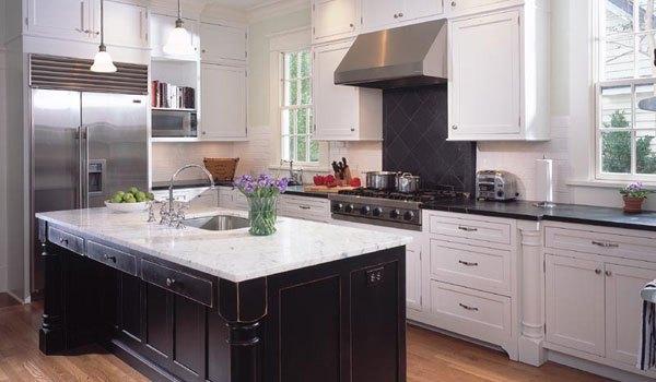inspirasi desain rumah minimalis tampilan dapur luar