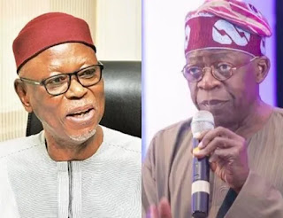 Oyegun replies Tinubu's letter, says he has his full support