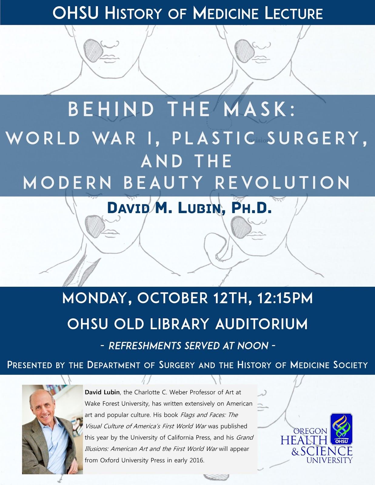 Behind the mask world war i plastic surgery and the modern beauty