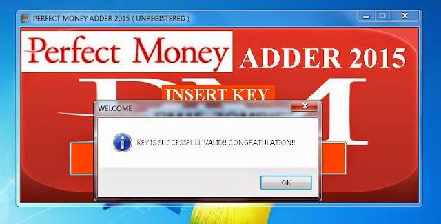 Perfect Money Adder 4.6 Keygen Generator -