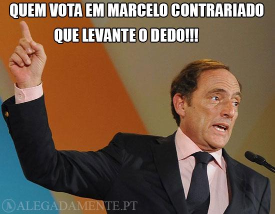 Imagem de Paulo Portas – Quem vota em Marcelo contrariado… que levante o dedo!!!