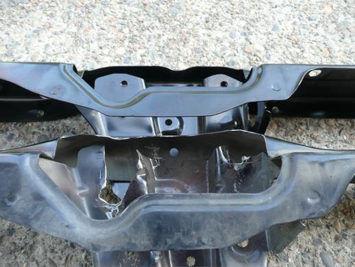 LexiLaron RSX Hood Latch Reinforcement Brace - Acura rsx hood