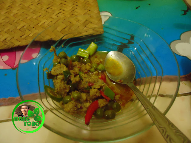 Resep makanan tradisional ulukutek leunca dan oncom