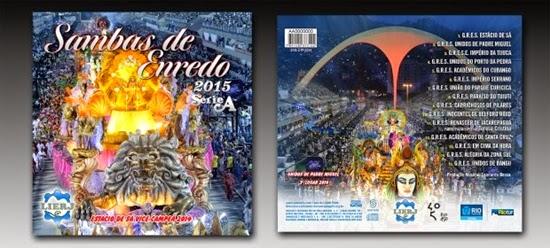 Samba Enredo Série A Carnaval 2015