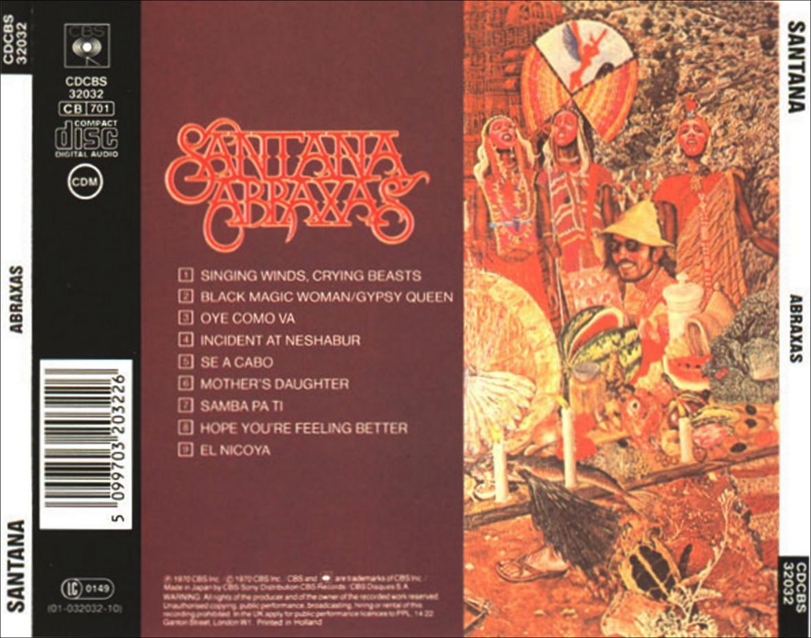 Carlos santana Abraxas full album Zip
